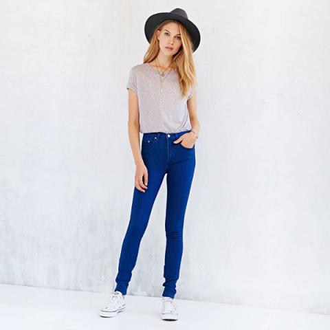 Calca Jeans Denin Skinny